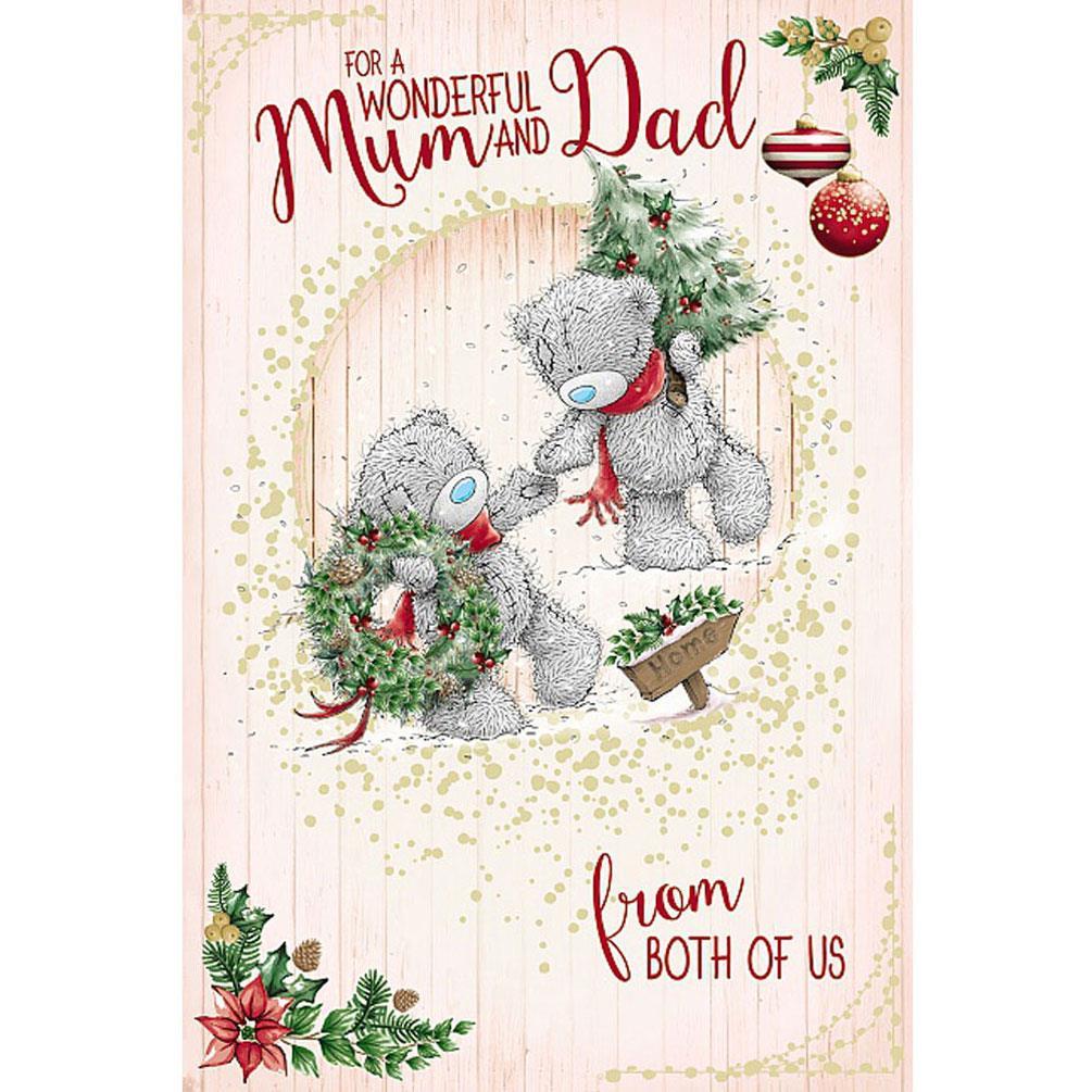 Wonderful Mum & Dad Me To You Bear Christmas Card (XSM01042) : Me to ...