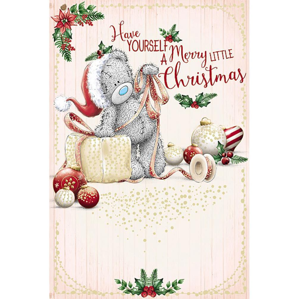 Have Yourself A Merry Little Christmas Me To You Bear Christmas Card ...