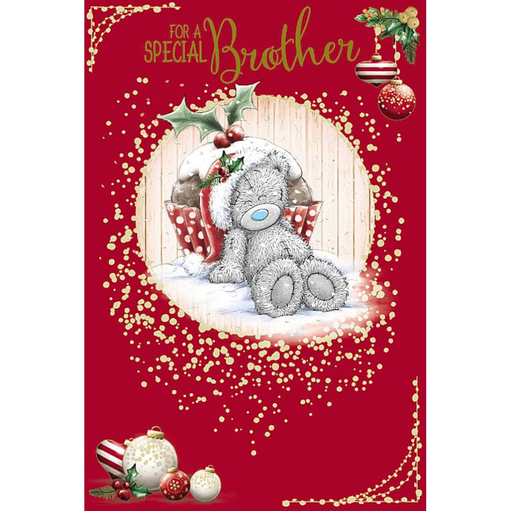 Special Brother Me To You Bear Christmas Card (XSM01063