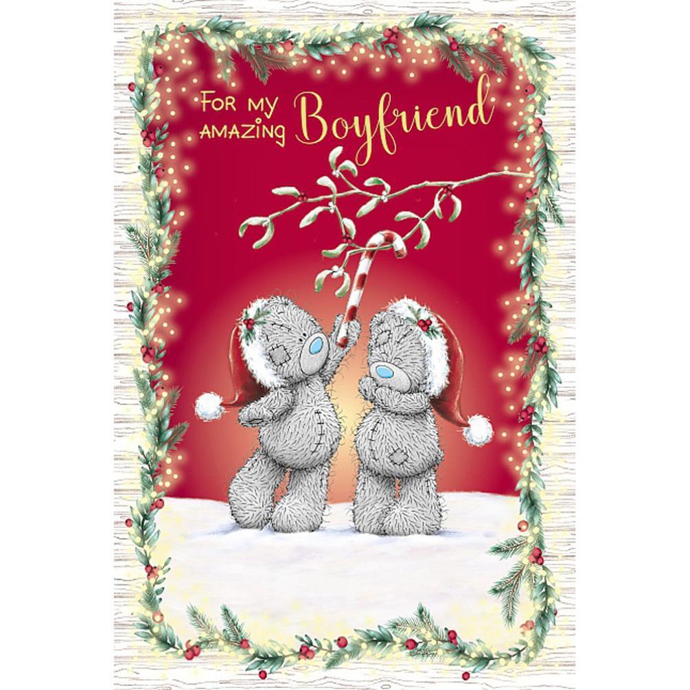 amazing boyfriend me to you bear christmas card xsm01081