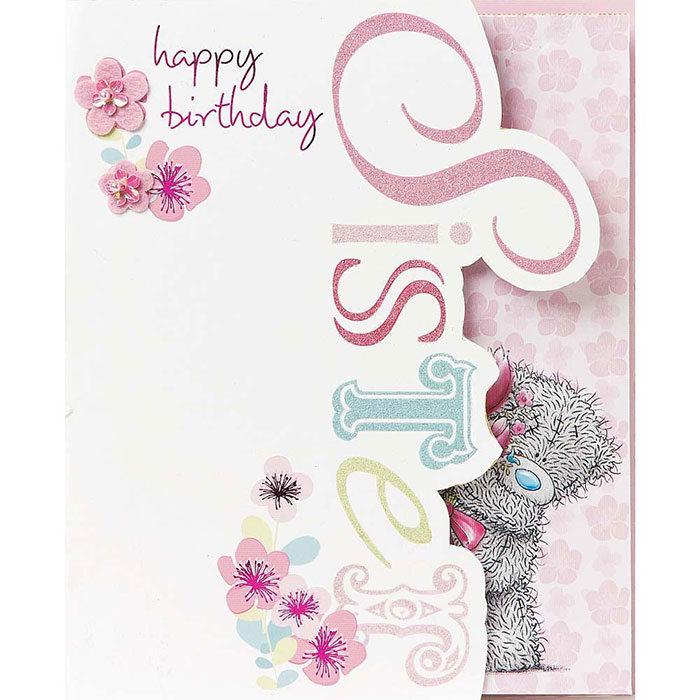 Sister me to you bear birthday cards ebay sister me to you bear birthday cards bookmarktalkfo Gallery