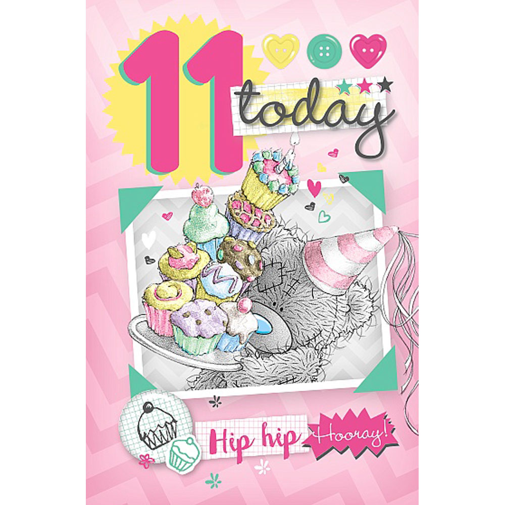 11th Birthday Me to You Bear Cards – 11th Birthday Cards