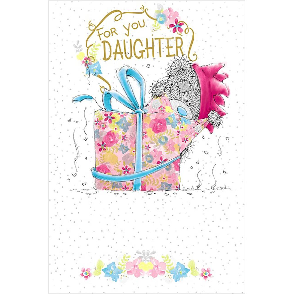 Daughter Me To You Bear Birthday Cards Ebay