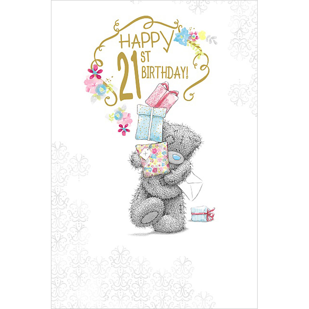 21st birthday me to you bear cards ebay for Me to u pictures
