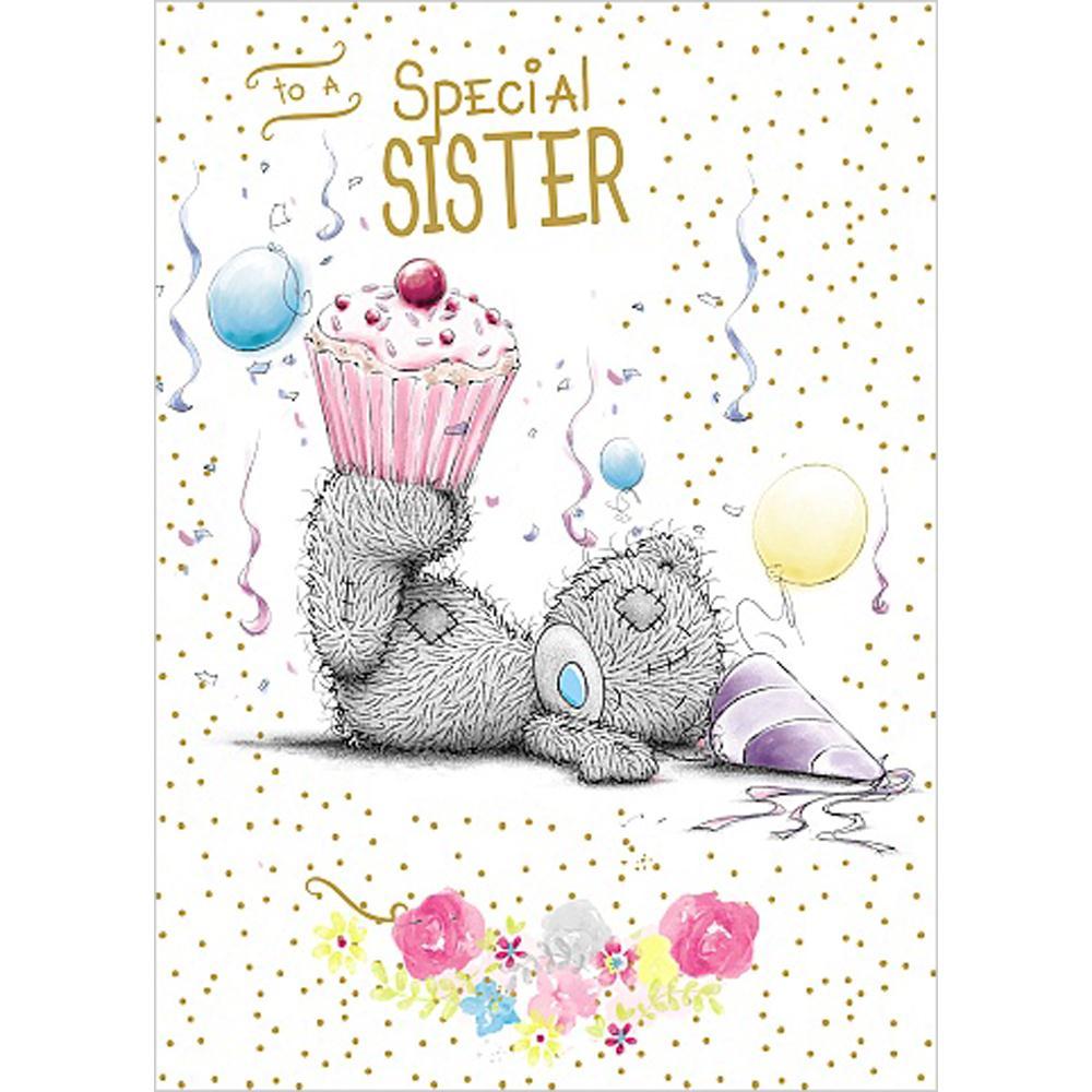 Sister Me To You Bear Birthday Cards Ebay