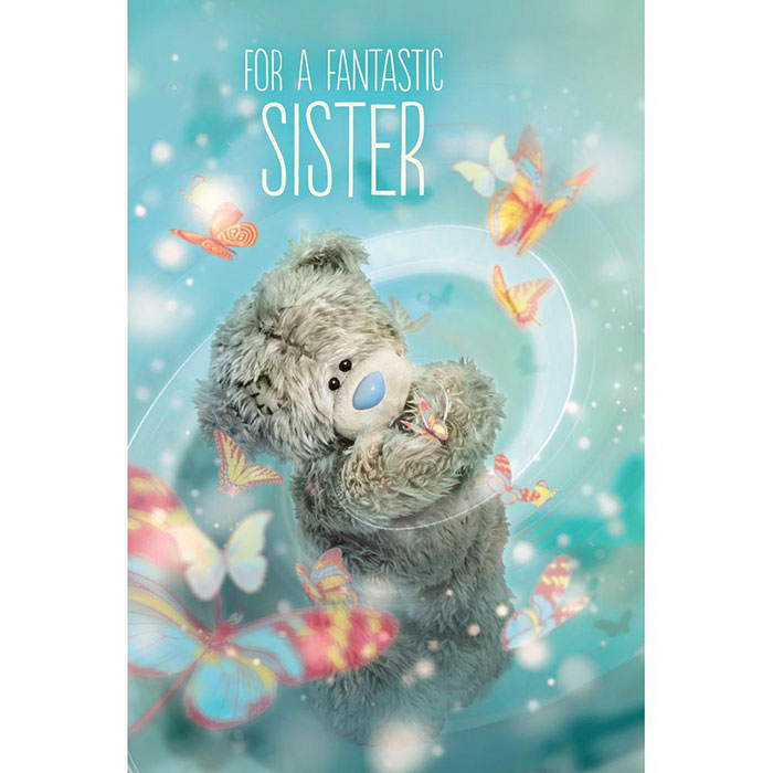 Sister Me to You Bear Birthday Cards – Me to You Birthday Card