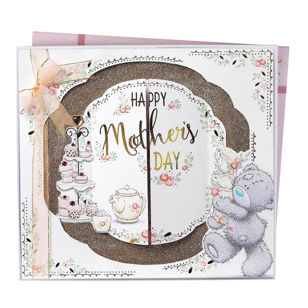 Happy Mothers Day From Me to You Tatty Teddy Bear A4 Luxury Boxed ...
