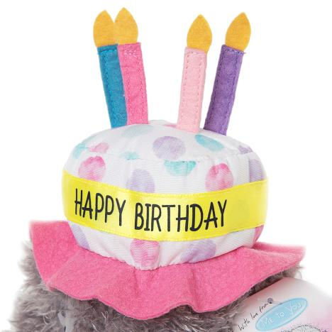 7inch Birthday Cake Hat Me To You Bear G01W4080 Bears