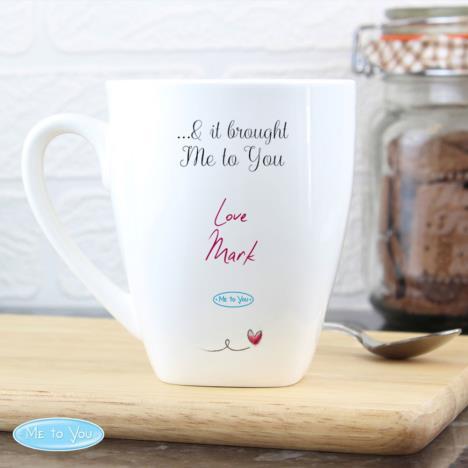 Personalised Me To You Tatty Teddy Latte Mug Birthday Valentine Day Christmas