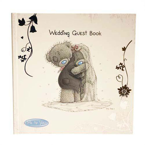 Me to you bear wedding guest book gs me to you online price